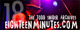 Todd Snider Eighteen Minutes
